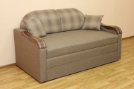 Вояж Н 1,6 диван в ткани горгон 1006 и германс 1011 - 1