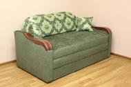 Вояж Н 1,6, диван в ткани кафу Д102-331 и розалинда 331