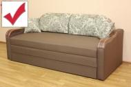 Вояж Н 2,0 диван в ткани бланка смоук и однотон