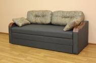 Вояж НК 200, диван в ткани моно 04 грей и артемик дк грей