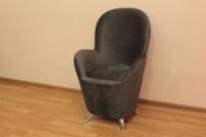 Жасмин, кресло в ткани изабель блек
