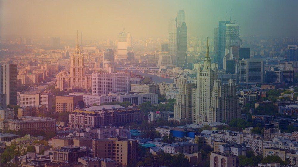 фотография города