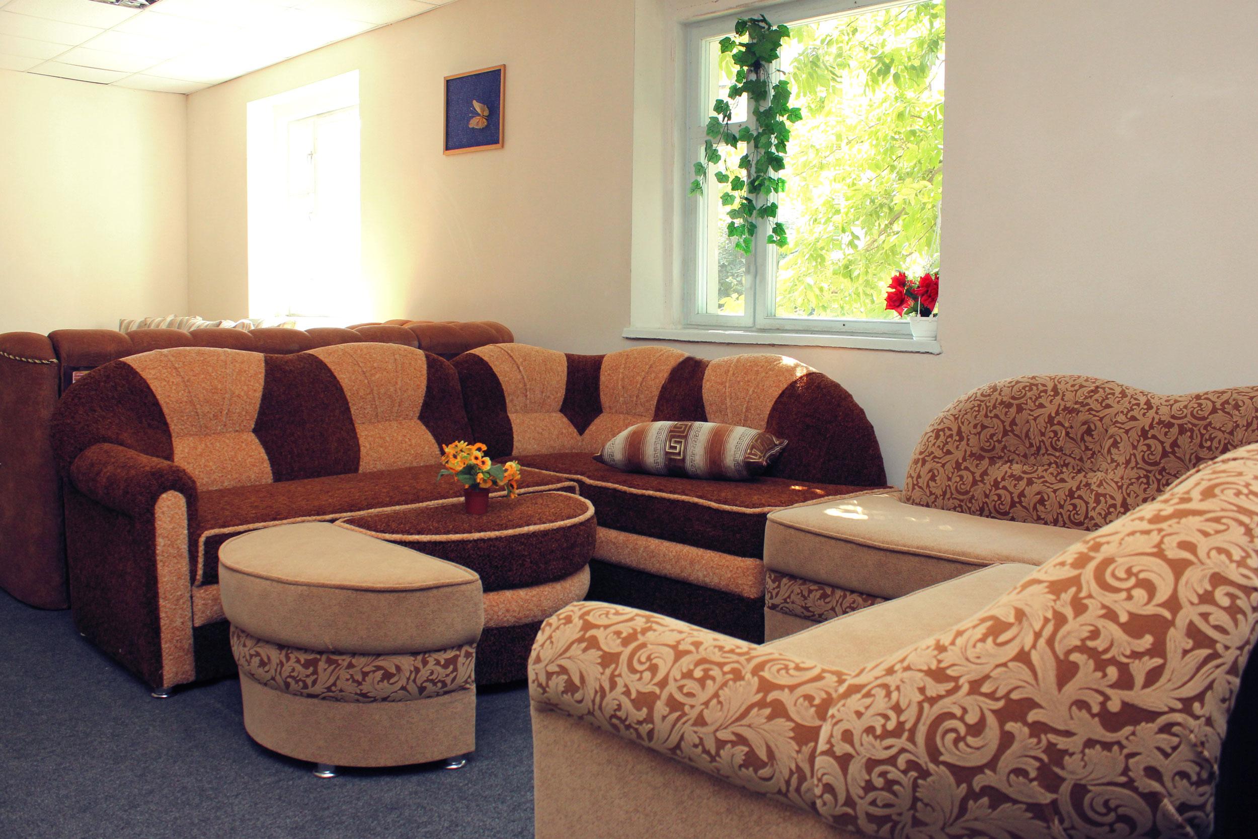 пан диван интерьер
