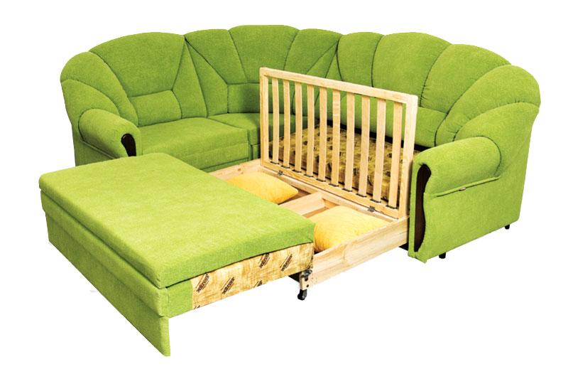 Алиса, угловой диван, ниша для белья