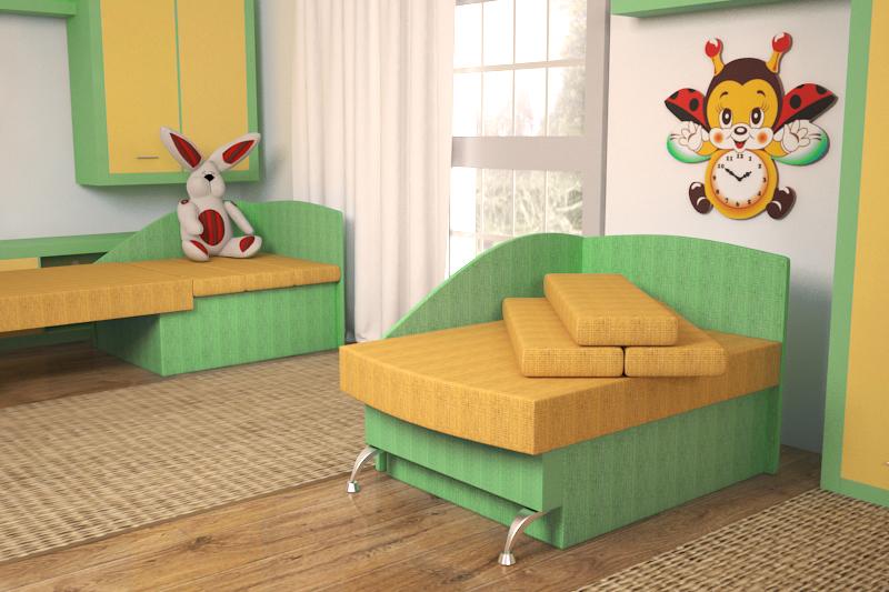 Антошка, диван малютка