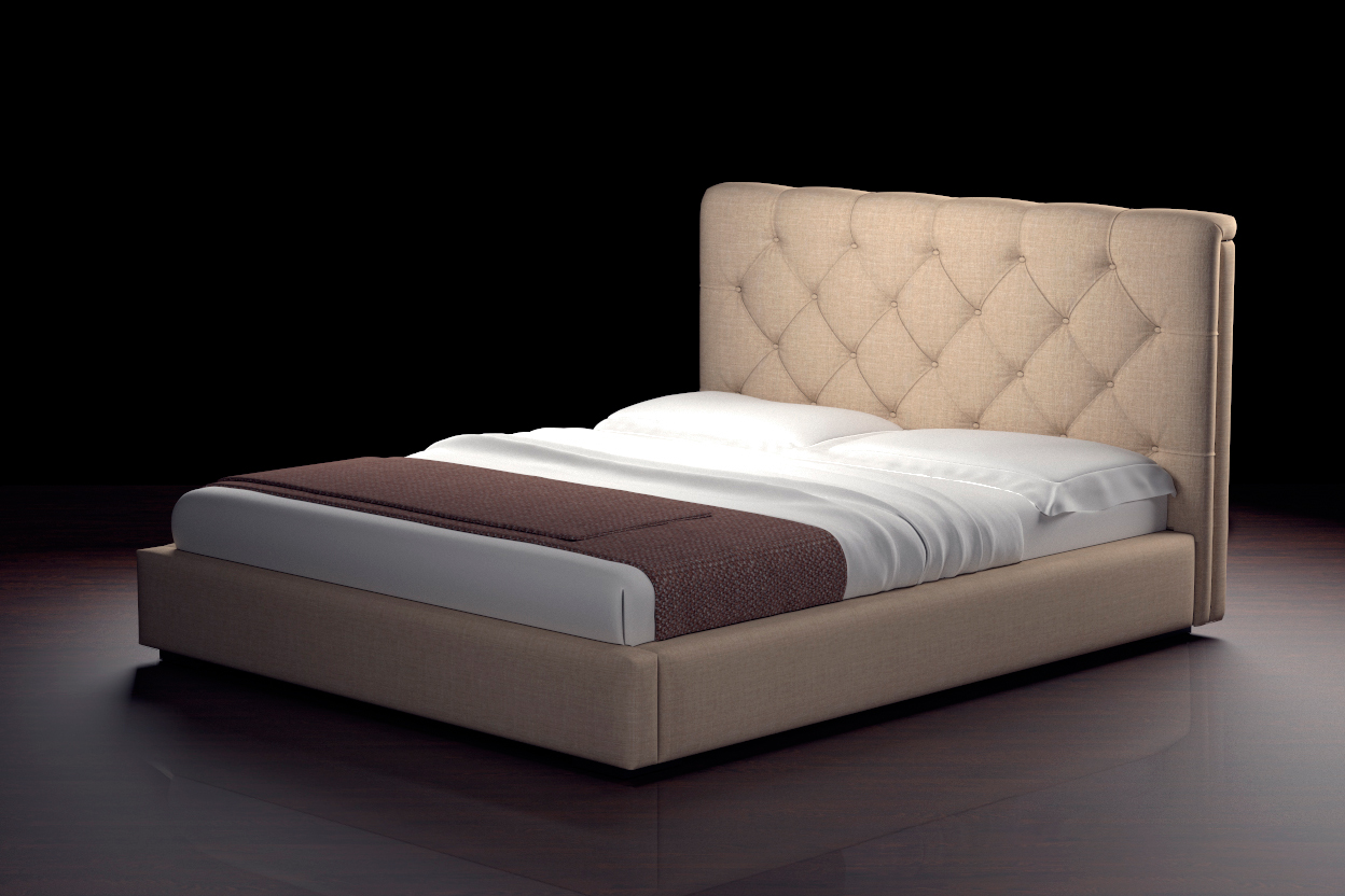 Моника Б, кровать. Матрас заказывается отдельно и не входит в стоимость кровати