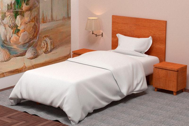 Бланка, кровать