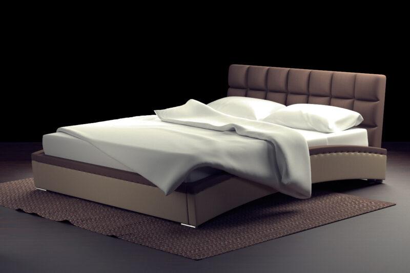 оливия кровать с одеялом