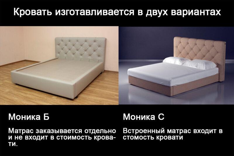 Моника различие кроватей