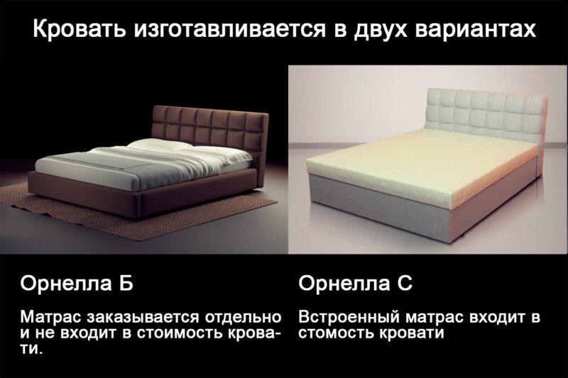 Орнелла разница кроватей